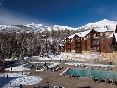 Photo for Two-Bedroom Condo in Ski In/Ski Out Breckenridge Resort; Avail. Jan 5-12, 2019