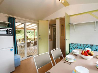 Photo for Camping Odalys Tamarins Plage - Mobile Home 3 Rooms 4/6 People