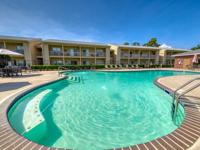 Photo for New Listing! Condo near beach w/ free WiFi, shared pool, & Snowbird Friendly!