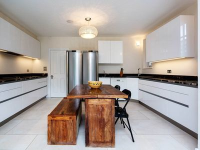 Photo for Stylish Minimalist & Spacious 5BR house with garden in Wimbledon, by Veeve