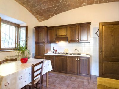 Photo for Apartment Stregaia in Volterra - 4 persons, 2 bedrooms