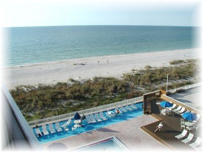 Photo for TOP FLOOR OCEAN and BEACHFRONT CONDO