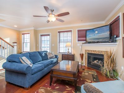 Photo for Spacious, three-level 3BR & den townhouses in downtown Ocean City.