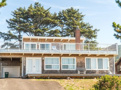 Photo for Located on the North Oregon Coast in Rockaway Beach oceanfront large home!