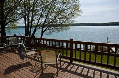 Amazing views of Lake Superior right from the front porch!