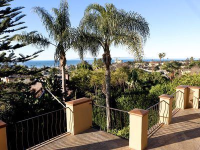 Photo for Large Downtown Ventura Hillside Penthouse with Ocean View - Two Bedroom Villa, Sleeps 4