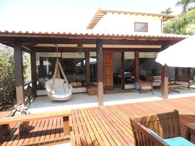 Photo for 4 suites in Cond. Closed with wifi, barbecue, sky and prox. Geriba beach
