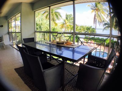 Photo for Kaibo K.I -  Newly Renovated Oceanfront Kaibo Yacht Club at Rum Point
