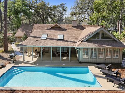 Photo for Be our Guest!  Remodeled 5BR/4BA home in Sea Pines with Large Pool