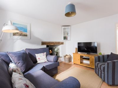 Photo for A beautifully furnished traditional Cornish cottage in vibrant waterside village