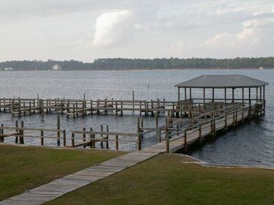 Photo for The Best Of ALL Worlds, Lagoon Front, Beach Access, Pet Friendly, 3 Bedroom