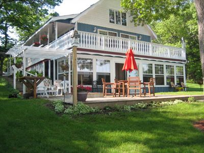 Photo for 2 Bedroom, 1 Bathroom  Cottage on Bar Lake.  Near Lake Michigan!