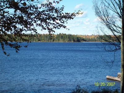 Photo for 3BR Cabin Vacation Rental in Tomhegan, Maine