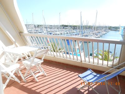 Photo for Port Camargue exceptional view apartment