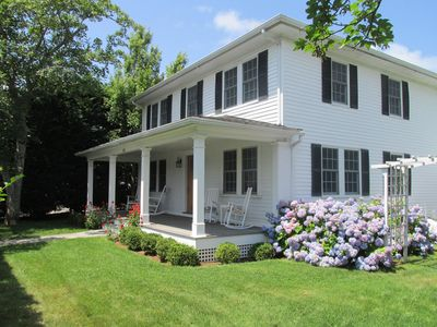 Photo for Edgartown Village - Spacious, Light-filled family home w/guest house