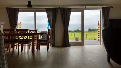 Photo for Quietly situated wheelchair-accessible house with beautiful views over grazing land.