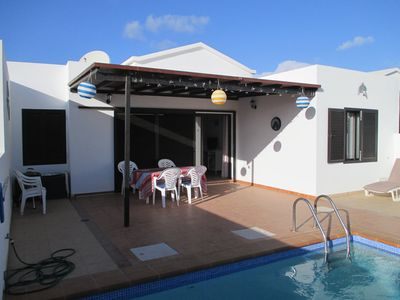 Photo for 3 bed, 2 bathroom villa, sleeps 6, private pool, off-street parking, free wifi