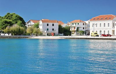 Photo for Delux sea view apartment with pool, gym, by the beach, near center Vodice