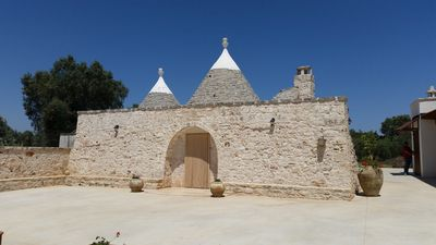 Photo for Experience Southern Italy up close in a roundhouse (trullo) - Trullo del Monaco