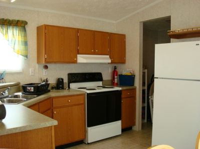 Comfortable kitchen with everything you need. New appliances