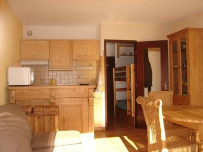 Photo for Beautiful STUDIO (27 m2) PLA D'ADET, at 100m Ski slopes, classified 2 *: 4 pers