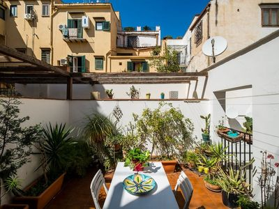 Photo for 2FLATS 28 € PER PERSON ! AT KALSA WITH TERRACE! WI FI AND PARKING FREE!