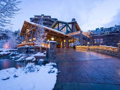 Photo for PARK CITY SKI-IN SKI-OUT SUNDANCE WEEK. WESTGATE RESORT Jan 29-Feb 2