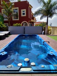 Photo for Luxury Villa 430m2, HEATED POOL,WiFi,5 Bedrooms, Sun Terrace 360° Sea view