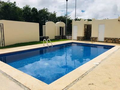 Photo for Excellent apartment 10 minutes from the beach with pool and Internet