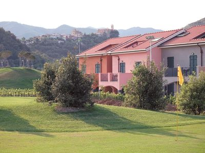 Photo for Comfortably furnished apartments located on a small park with a swimming pool and a golf course.
