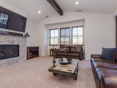 Photo for DISCOUNTED RATES! Modern Townhome with Mountain Views and Shared Hot Tub