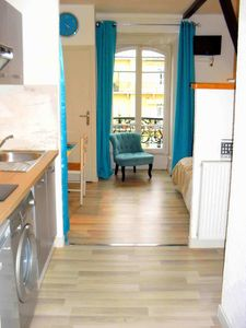 Photo for VERY QUIET STUDIO IN THE HEART OF THE CITY OF AIX LES BAINS