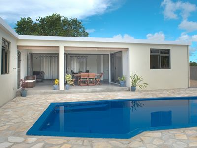 Photo for Modern spacious villa with own private pool, garden, excellent location
