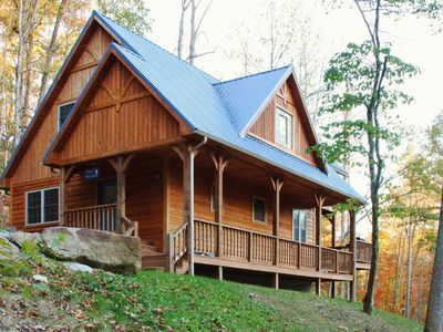 Photo for 'Blues Moon' Serene 2BR Red River Gorge Cabin!