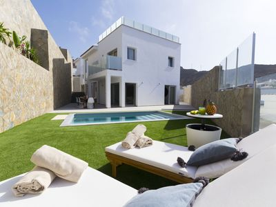 Photo for ROOFTOP VILLA WITH PRIVATE POOL
