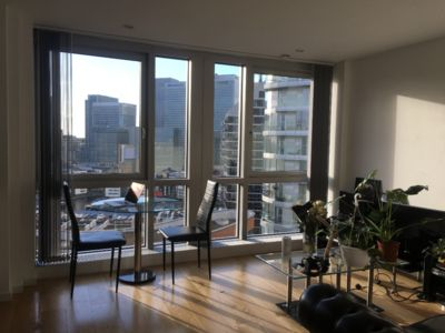 Photo for Luxury Skyscraper Apartment in Canary Wharf