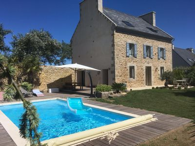 Photo for 5BR Country House / Chateau Vacation Rental in PLOUNEOUR TREZ, Bretagne