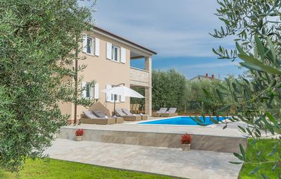 Photo for Villa Terlevic with Pool surrounded by Olive Groves