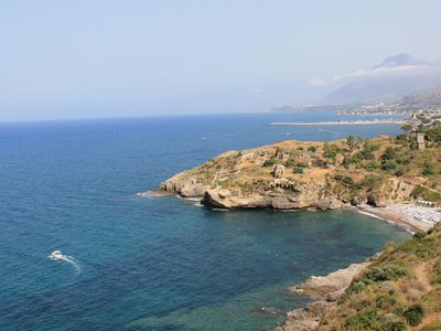 Photo for Sole Mare, San Nicola L'Arena, Beautiful studio apartment 1 a few meters from the sea