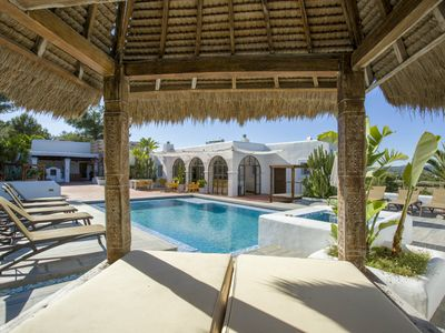 Photo for 9 bedroom Villa, sleeps 8 with Pool, Air Con, FREE WiFi and Walk to Shops