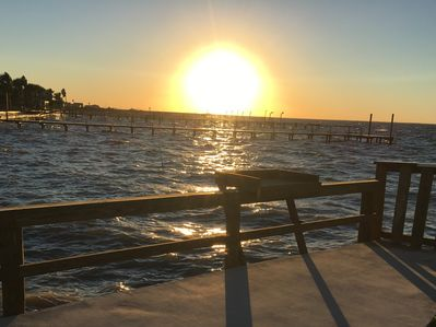 Breathtaking Copano Bay Sunset on this impressive waterfront property Harbor Point