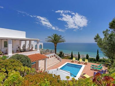Photo for 5 bedroom Villa, sleeps 10 in Torre Guadiaro with Pool, Air Con and WiFi