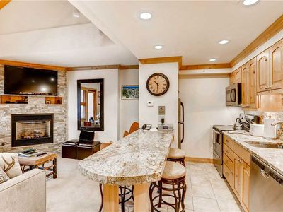 Photo for Two Bedroom Luxury Vail Condo, Ski-in/Ski-out, Mountain View, Hot Tub, Pool