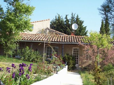 Photo for Independent house with garden For4 pers 8km from Vallon Pon-D'arc