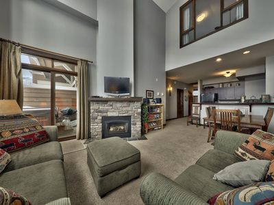 Photo for Multi level 3 bedroom condo, very close to ski-in/out trails
