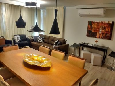 Photo for LUXURY FIT WITH 300mts R. COVERED, 2 SUITES, FURNISHED (302D)