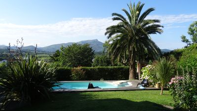 Photo for Charming house with garden, stunning views Nivelle Rhune