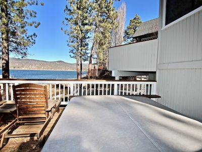 Photo for Big Bear Lakefront (2400sf)