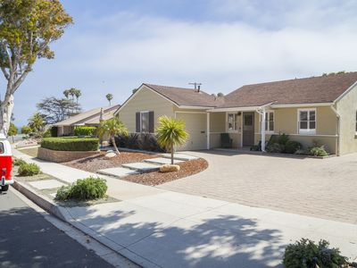 Photo for Mid Century Mesa Beach Cottage one block from beach and park