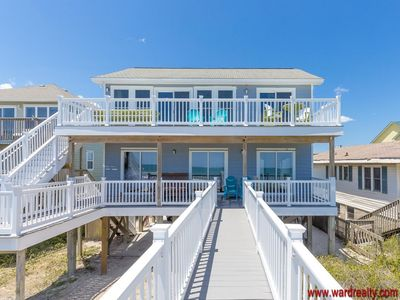 Photo for A Wave From It All - Gorgeous 4 BR/3BA Oceanfront Home!